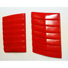 GROSS RED VENT SCOOP COVER TRIM FORD RANGER WILDTRAK T6 XLT 12 13 14 15 LIMITED