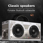 NEW Retro Bluetooth Speaker Classic Portable Subwoofer Deep Bass Stereo Speakers