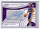 2015-16 Clear Vision D'Angelo Russell Rookie Auto Autograph Card #D 94 !!!