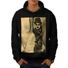Charlie Chaplin Celebrity Men Hoodie S 5XL NEW  Wellcoda