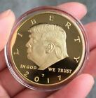 President Donald Trump 2017 Commemorative Novelty Coin GOLD Color