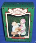 Hallmark Ornament Mr and Mrs Claus #2 1987 Home Cooking Santa Cookie Used #1