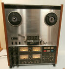 TEAC A 3340S 4 Channel Simul Sync Stereo Reel to Reel Tape Deck For Parts Only