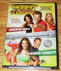 The Biggest Loser The Workout 2 Pack DVD 2007 Cardio Max  Power Sculpt NEW