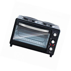New Multifunction Kitchen Oven Counter Top Rotisserie Cooker w/ Dual Hot Plates