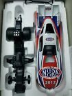 NHRA diecast car calendar Signed by John force free ups shipping