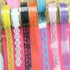 5 Rolls Lace Sticker Stationary Scrapbook Self Adhesive Tape Wedding Party Decor