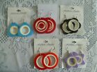 Lucite Fashion Earrings Assorted Styles Colors NEW