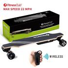 Electric Longboard Big Power Dual Motorized Skateboard 22MPH w Remot Control