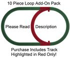 PASSING LOOP ADD ON PACK-Polar Express John Deer Mickey Mouse North Pole Central