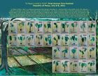 PALAU 2011 FIRST ANNUAL TARO FESTIVAL SHEET OF 30 STAMPS MNH