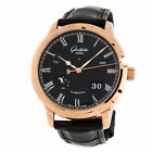 Glashutte Original Senator Calendar Auto 42mm Gold Mens Watch 100-02-25-05-05
