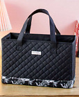 Sewing Machine Bag Tote Craft Storage Organizer Portable Compact Carrying Black