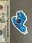 Santa Cruz Skateboard Sticker 3 Old School Screaming Hand Large Skate Punk Surf