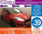 2014 FORD FIESTA 10 ZETEC S RED EDT GOOD BAD CREDIT CAR FINANCE FROM 44 P WK