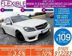 2012 MERCEDES C63 AMG 62 GOOD BAD CREDIT CAR FINANCE FROM 104 P WK
