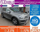 2014 VW TOUAREG 30 TDI V6 R LINE GOOD BAD CREDIT CAR FINANCE FROM 119 P WK
