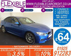 2015 BMW 320D XDRIVE M SPORT GOOD BAD CREDIT CAR FINANCE FROM 69 P WK