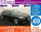 2014 BMW 520D 20 TD M SPORT GOOD BAD CREDIT CAR FINANCE FROM 69 P WK