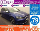 2015 VW GOLF R 20 TSI 4X4 GOOD BAD CREDIT CAR FINANCE AVAILABLE