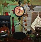 Primitive Antique Vtg Style General Store Hanging Basket Produce Scale XMAS GIFT