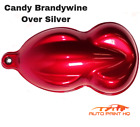 Candy Brandywine Over Silver Base Quart Car Vehicle Motorcycle Auto Paint Kit