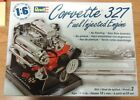 NEW Revell Model Kit - Corvette 327 Fuel Injected Engine 1:6 Scale Model 85-1594
