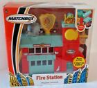 Matchbox Hero City 2004 Fire Station with Fire Truck Vehicle NIB New in Package