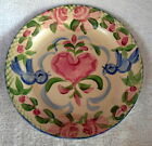 Hand Painted February Heart Plate by Salin
