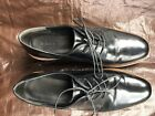 Womens Vince Black Reed Lace up Flat formOxfords US size 8