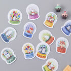 45x Animal Crystal Ball paper sticker decor diary scrapbookinglabel stickers QY