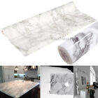 Self Adhesive Vinyl Roll Film Grey Marble Contact Paper Counter Top Cabinet Wrap