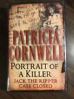 Patricia Cornwell Signed 1st Edition Portrait Of A Killer Never Read
