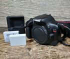 Canon EOS Rebel T2i 550D 180MP DSLR Camera Body Only 3008 Clicks