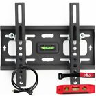 OLLO MOUNTS: Tilting Wall Mount Bracket With HMDI Cable Level & Hardware
