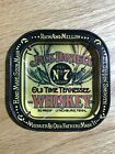 Jack Daniels Old Time Tennessee Whiskey Tin Ashtray Coin Tray Coaster