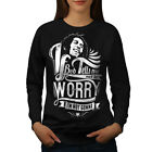 Bob Marley Dont Worry Women Sweatshirt NEW | Wellcoda