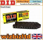 DID Black HD Motorcycle Chain Hyosung 125 Cruise II 1997-98 CHD148