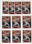 (10) 2012 Topps Bryce Harper Leg Up Variation RC ROOKIE #661 LOT MINT QTY