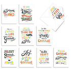 WORDS OF APPRECIATION 10 Assorted Thank You Note Cards Stationery Notecards