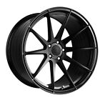 19 VERTINI RF13 GLOSS BLACK FORGED CONCAVE WHEELS RIMS FITS ACURA TL