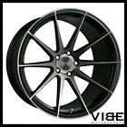 22 VERTINI RF13 BLACK FORGED CONCAVE WHEELS RIMS FITS INFINITI FX