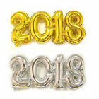 2018 Lucky Number Foil Balloon Gold Silver Party Decoration Gifts