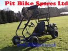 New 200cc Off Road Drift Buggy Roll Cage 65hp 4 Stroke Petrol Powered Go Kart