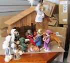 Vintage ASHTON DRAKE 10 Doll Full NATIVITY set with Boxes
