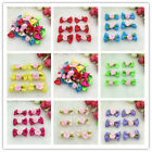 10 50 100 Pcs Satin Ribbon BOW Appliques Craft Wedding Decoration CA08