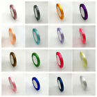 6mm 1Roll 25ydsSilk Satin Ribbon Wedding Party Decoration Card Gift Packing