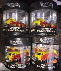 Hot Wheels Shell White Tank truck Limited Edition Lot Of 4