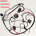 COMPLETE ELECTRICS GY6 150CC CDI STATOR 125CC BUGGY WIRING HARNESS ATV WIRE LOOM