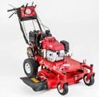 32 Electric Start with Recoil Backup Gas Self Propelled Walk Behind Lawn Mower